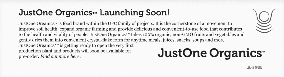 JustOne Organics - Launching Soon!